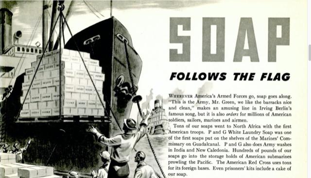 soap follows the flag